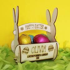 easter egg basket personalised easter egg basket for egg hunt gift for kids mini