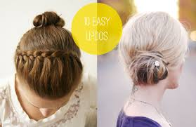 updos for long hair i can do my self 10 easy updos you can actually do with 2 hands aol lifestyle