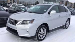 lexus canada new silver on black 2015 lexus rx 350 awd technology package