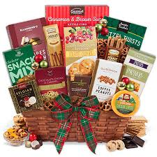 gift basket ideas for christmas christmas gift basket premium by gourmetgiftbaskets