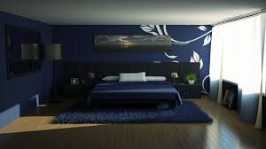 Contemporary Blue Bedroom - home decor style room black white and gold bedroom bathroom