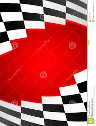 Checkered Flag Eps Red Racing Background Stock Vector Image Of White Champion