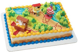 spongebob birthday cakes amazon com