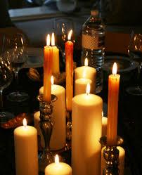 halloween flameless candles ciao newport beach my halloween dinner party preview