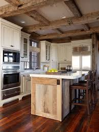 kitchen island reclaimed wood reclaimed wood kitchen islands houzz