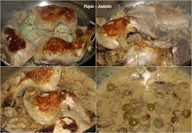 cuisiner des cuisse de poulet cuisses de poulet aux champignons et aux olives pique assiette