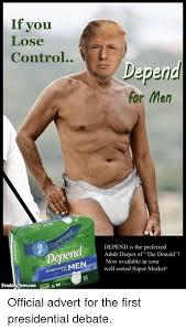 Adult Diaper Meme - if you lose control dep men underwear freaking newscom depe for men