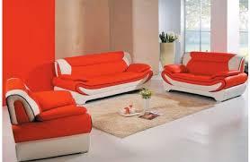 Orange Leather Sofa Wonderful Orange Leather Sofa Set Beca Modern Orange Leather Sofa