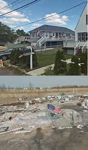 Google Maps In Usa With Street View by Staten Island House Before And After Hurricane Sandy American