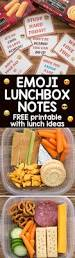 emoji lunchbox notes free printable crazy for crust