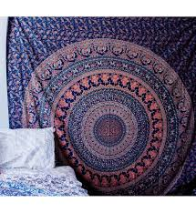 psychedelic home decor kaleidscope hippie home decor wall hanging queen tapestry wall