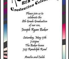 8th grade graduation cards 8th grade graduation invitations 8th grade graduation invitations