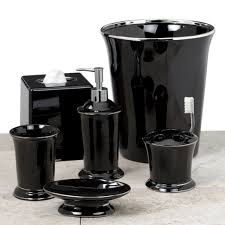 White Bathroom Accessories Set by Bathroom Deluxe Turquoise And Black Bathroom Accessories Picture