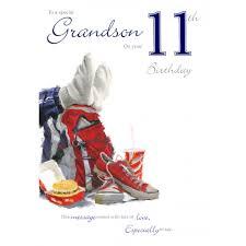 grandson 11th birthday card