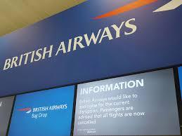 british airways black friday british airways system outage u0027caused by it worker accidentally