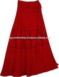 rajasthani ethnic style cotton wrap around skirts women s