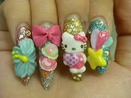 japanese deco nails japanese nail art japanese nails and hello