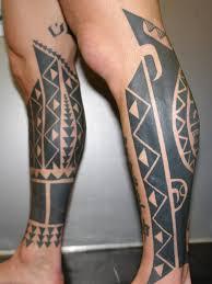 best calf tattoo for men 3d design idea for men and women