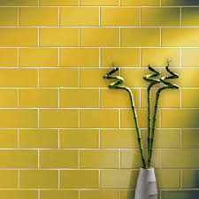 Yellow Tile Bathroom Ideas St James Smooth Gloss 200x100 Yellow Tiles Metro Smooth 200x100
