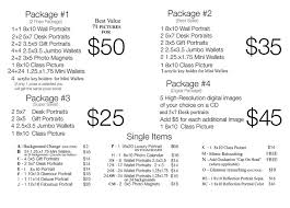 photographer prices school photography company preschool photography price list