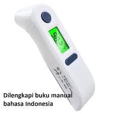Termometer Pengukur Suhu Badan thermometer termometer telinga digital infrared pengukur suhu badan