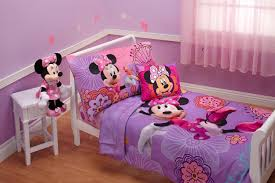 Disney Bedroom Set At Rooms To Go Amazon Com Disney 4 Piece Minnie U0027s Fluttery Friends Toddler