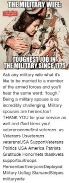 Military Wives Meme - 25 best memes about military spouse military spouse memes