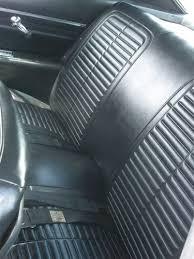 1967 Firebird Interior 1968 Firebird Coupe Convertible Stationary Rear Seat Covers