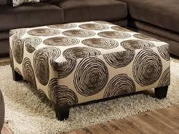 Big Ottoman Big Swirl Chocolate Ottoman The Furniture Mart