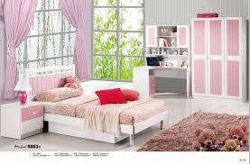 chambre de fille moderne 4 pièces blanc princesse moderne mobilier de chambre fille