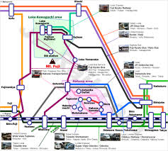 Shinagawa Station Map Fuji Hakone Access Guide By Train And Bus From Both Tokyo And