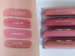 Wardah Lip Di Pasaran warna warna baru dari wardah exclusive matte lip moeslema