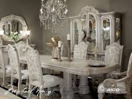 9 Pc Dining Room Set by 6 830 00 Monte Carlo Ii 9 Pc Dining Set Silver Pearl By Michael