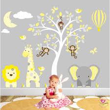 Jungle Wall Decal For Nursery Jungle Animal Nursery Wall Stickers