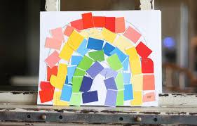 rainbow mosaic i can teach my child
