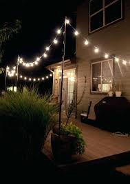 Lights For Outdoors Ways To Hang String Lights Outdoors Outdoor Designs