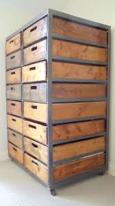 Drawer Storage Units 21 Best Industrial Look Chests Of Drawers Images On Pinterest