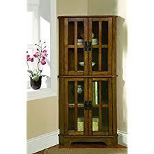What To Put In A Curio Cabinet Amazon Com Coaster Company Of America Brookhaven Curio Cabinet