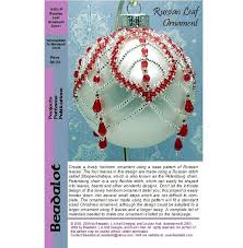 287 best beaded ornaments images on beaded