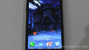 halloween wallpaper for android haunted house hd halloween live wallpaper for android reviewed on