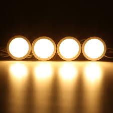 under cabinet light bulbs 4pcs warm white led under cabinet light lamp bulbs kitchen counter