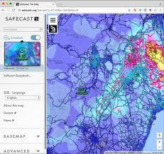 Fukushima Radiation Map Safecast Web Map Update Safecast