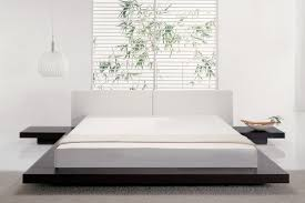 Simple White Bed Frame 32 White Bedrooms That Exude Calmness