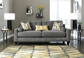 Charcoal Living Room Furniture Astounding Round Coffee Table Feat Shade Table Lamps As Well As