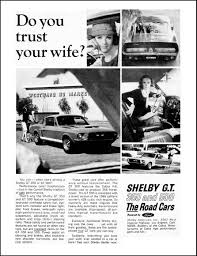 1967 shelby mustang ad ford heritage pinterest shelby