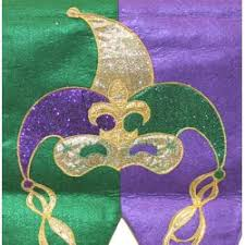 mardi gras table runner mardi gras table runner with jester design