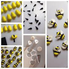 bumble bee decorations bumble bee cupcake toppers 3 steps with pictures