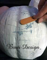 Paper Mache Pumpkin Perfect Paper Mache Pumpkin Container Tutorial