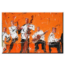 online shop xh2273 rock jazz music home decor wall art painting