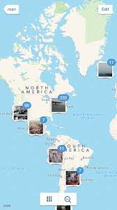 Instagram Map Maps Screenshots Mobile Patterns